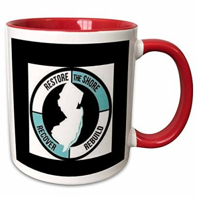 3dRose-Xander-inspirational-sayings-restore-the-shore-circle-with-lettering-and-picture-of-new-jersey-11oz-Two-Tone-Red-Mug-mug1724365-0