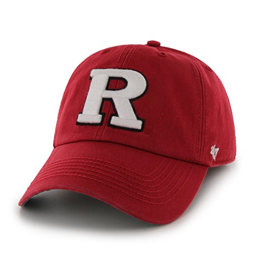 47 NCAA Rutgers Scarlet Knights Franchise Fitted Hat ... b282f6289f4