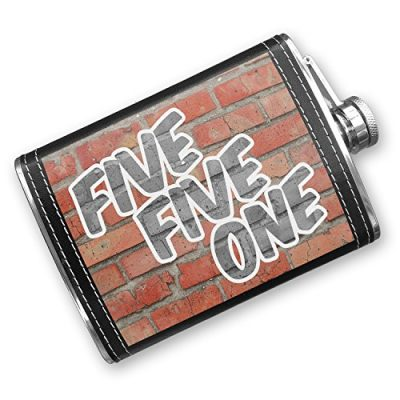 8oz-Flask-Stitched-551-Hackensack-NJ-brick-Stainless-Steel-Neonblond-0
