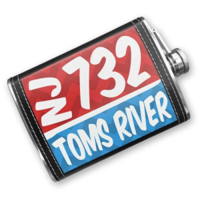 8oz-Flask-Stitched-732-Toms-River-NJ-redblue-Stainless-Steel-Neonblond-0