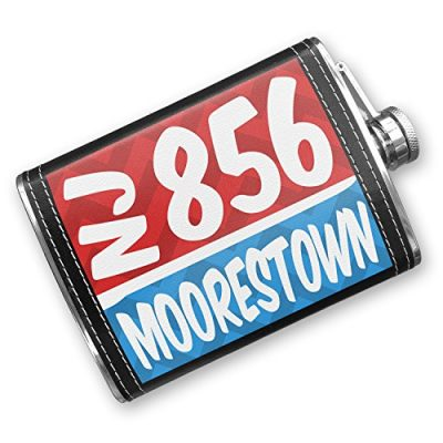 8oz-Flask-Stitched-856-Moorestown-NJ-redblue-Stainless-Steel-Neonblond-0