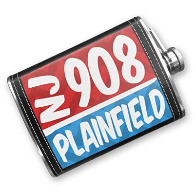 8oz-Flask-Stitched-908-Plainfield-NJ-redblue-Stainless-Steel-Neonblond-0