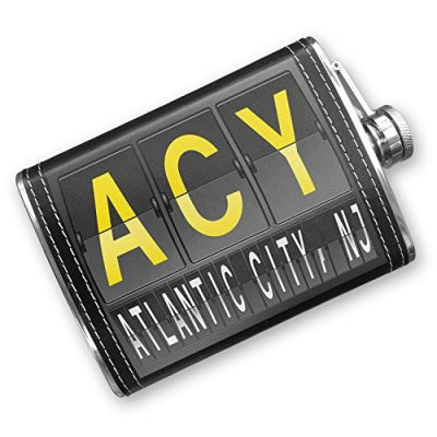 8oz-Flask-Stitched-ACY-Airport-Code-for-Atlantic-City-NJ-Stainless-Steel-Neonblond-0