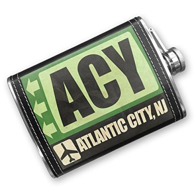 8oz-Flask-Stitched-Airportcode-ACY-Atlantic-City-NJ-Stainless-Steel-Neonblond-0