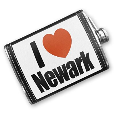 8oz-Flask-Stitched-I-Love-Newark-region-New-Jersey-United-States-Stainless-Steel-Neonblond-0