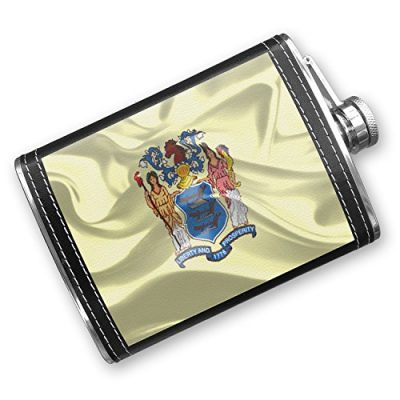 8oz-Flask-Stitched-New-Jersey-3D-Flag-region-America-USA-Stainless-Steel-Neonblond-0