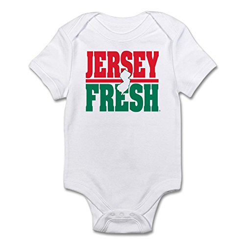 9813ccd615a16 CafePress – Jersey Fresh Infant Body Suit – Cute Infant Bodysuit Baby Romper