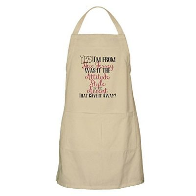 CafePress-New-Jersey-Girl-Pink-Kitchen-Apron-with-Pockets-Grilling-Apron-Baking-Apron-0