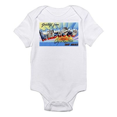 CafePress-Wildwood-by-the-Sea-New-Jersey-NJ-Infant-Bodysuit-Cute-Infant-Bodysuit-Baby-Romper-0