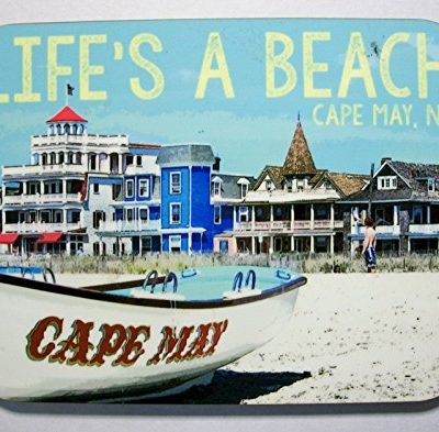 Cape-May-New-Jersey-Lifes-a-Beach-Photo-Fridge-Magnet-0