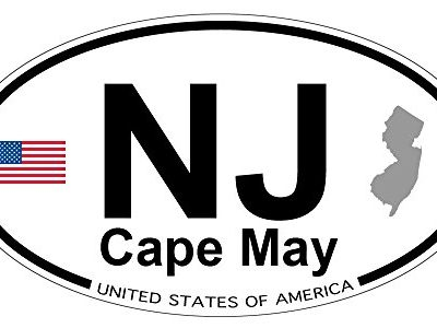 Cape-May-New-Jersey-Oval-Magnet-0