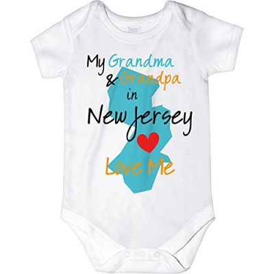 CarefreeTees-My-Grandma-and-Grandpa-Love-Me-Unisex-Baby-Bodysuit-24M-New-Jersey-0