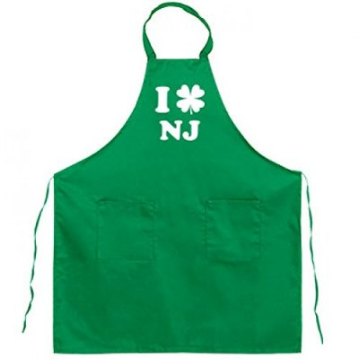 Clover-Cook-I-Love-NJFull-Length-Kelly-Green-Bib-Apron-0