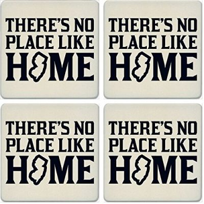 CoasterStone-Absorbent-Coasters-No-Place-Like-Home-New-Jersey-Set-of-4-4-14-Multicolor-0