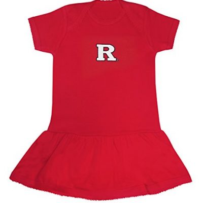Creative-Knitwear-Baby-Girl-Rutgers-University-Picot-Creeper-Dress-24-Months-0