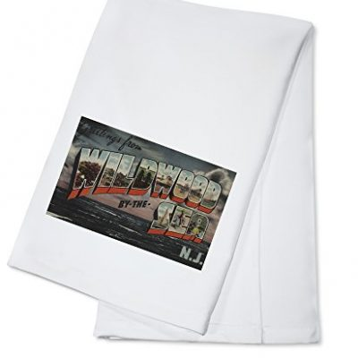 Greetings-from-Wildwood-By-the-Sea-NJ-Ocean-Scene-100-Cotton-Kitchen-Towel-0