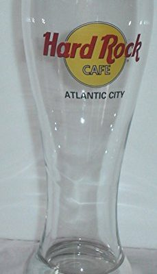 HARD-ROCK-CAFE-ATLANTIC-CITY-Collectible-Pilsner-Glass-0