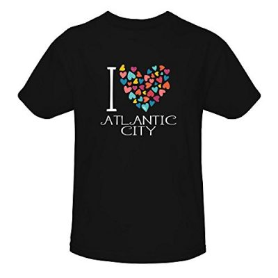 Idakoos-I-love-Atlantic-City-colorful-hearts-US-Cities-Youth-T-Shirt-0