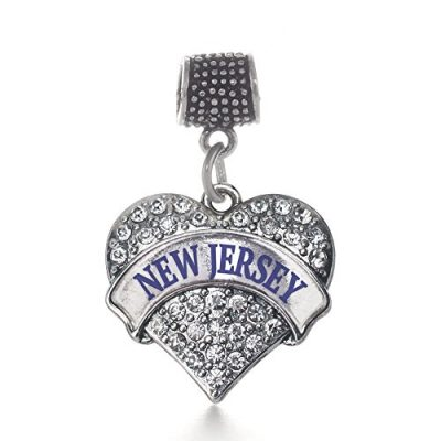 Inspired-Silver-New-Jersey-Pave-Heart-Memory-Charm-Fits-Pandora-Bracelets-Compatible-with-Most-Major-Brands-such-as-Chamilia-Murano-Troll-Biagi-and-other-European-Bracelets-0