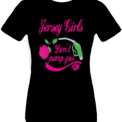 JERSEY-GIRLS-DONT-PUMP-GAS-Juniors-Size-Fitted-Girly-NJ-T-shirt-Black-Medium-0