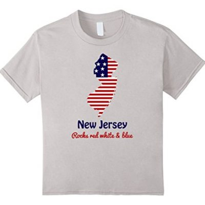 Kids-New-Jersey-The-Garden-State-Vintage-T-shirt-New-Jersey-Home-6-Silver-0