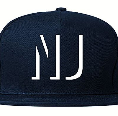 Kings-Of-NY-NJ-New-Jersey-Abbreviation-State-Snapback-Hat-Navy-Blue-0