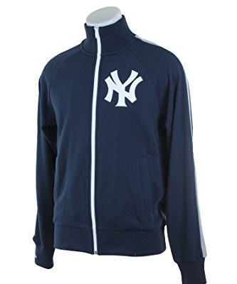 MLB-Mitchell-Ness-Mens-Division-Champions-French-Terry-Full-Zip-Jacket-Large-New-York-Yankees-0