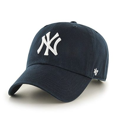 MLB-New-York-Yankees-Mens-47-Brand-Home-Clean-Up-Cap-Navy-One-Size-0