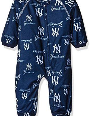 MLB-New-York-Yankees-Newborn-Boys-Sleepwear-All-Over-Print-Zip-Up-Coveralls-3-6-Months-Athletic-Navy-0