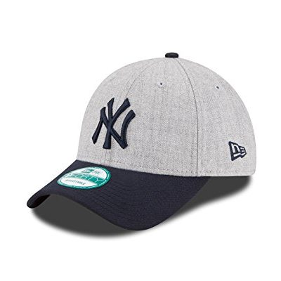 MLB-New-York-Yankees-The-League-Heather-9Forty-Adjustable-Cap-One-Size-Heather-0