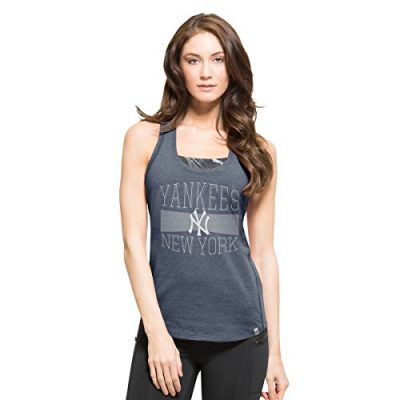 MLB-New-York-Yankees-Womens-47-High-Point-Tank-Top-Large-Shift-Navy-0