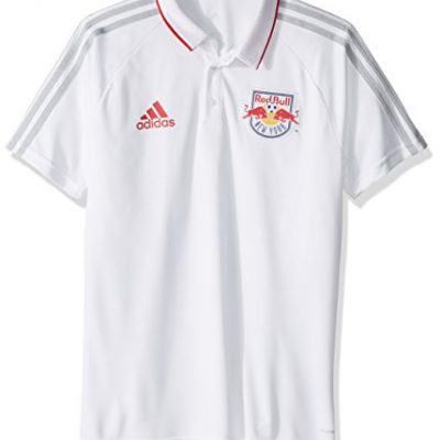 MLS-New-York-Red-Bulls-Mens-Authentic-Sideline-Coaches-Polo-X-Large-White-0