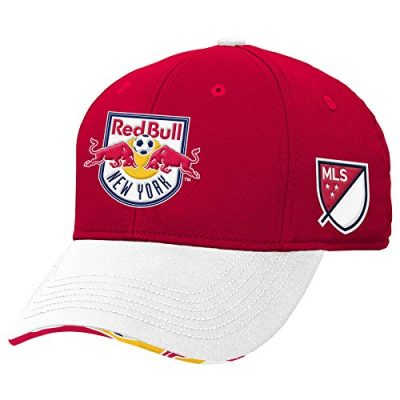 MLS-New-York-Red-Bulls-Structured-Flex-One-Size-Toro-Red-0