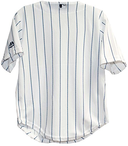 new product faaca db1b8 Majestic Toddler New York Yankees White/Navy Blue Baseball Jersey (2  Toddler)