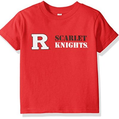 NCAA-Rutgers-Scarlet-Knights-Children-Unisex-Short-Sleeve-Tshirt4Red-0