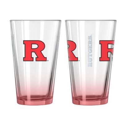 NCAA-Rutgers-Scarlet-Knights-Elite-Pint-Glass-16-ounce-2-Pack-0