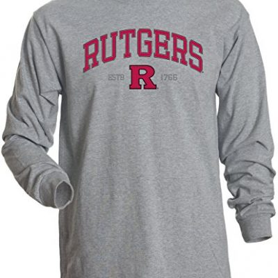 NCAA-Rutgers-Scarlet-Knights-Mens-Basic-Long-Sleeve-Tee-Small-Athletic-Heather-0