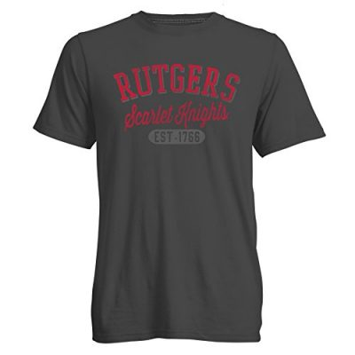 NCAA-Rutgers-Scarlet-Knights-Mens-Go-To-Signature-Crew-Neck-Tee-Medium-Carbon-0