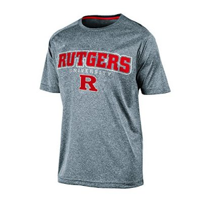 NCAA-Rutgers-Scarlet-Knights-Mens-Impact-Heather-Jersey-T-Shirt-Small-Gray-Heather-0