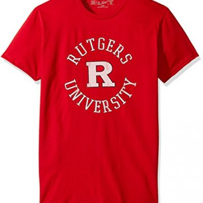 NCAA-Rutgers-Scarlet-Knights-Mens-Victory-Vintage-Tee-Small-Red-0
