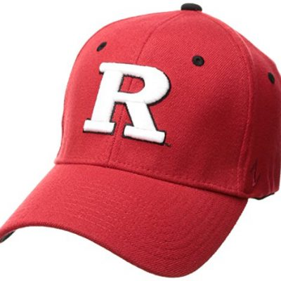 NCAA-Rutgers-Scarlet-Knights-Mens-ZH-Stretch-Fit-Cap-Red-X-Large-0
