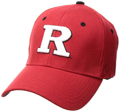 new products 6283d 8b21e NCAA Rutgers Scarlet Knights Men s ZH Stretch Fit Cap, Red ...
