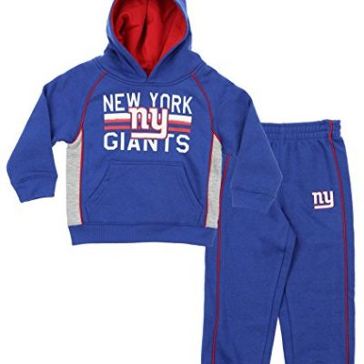 NFL-Little-Boys-Todders-Infants-Classic-Fan-2-Piece-Hoodie-Pant-Set-Various-Teams-New-York-Giants-2T-0