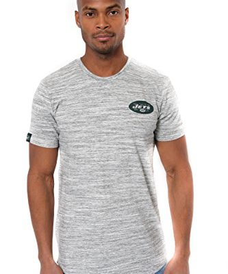 NFL-Mens-New-York-Jets-Space-Dye-Team-Logo-Short-Sleeve-T-Shirt-Large-0