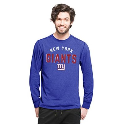 NFL-New-York-Giants-Mens-47-Forward-Long-Sleeve-Tee-Shift-Booster-Medium-0