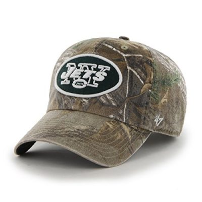 NFL-New-York-Jets-47-Brand-Big-Buck-Clean-Up-Adjustable-Hat-Realtree-Camouflage-One-Size-0