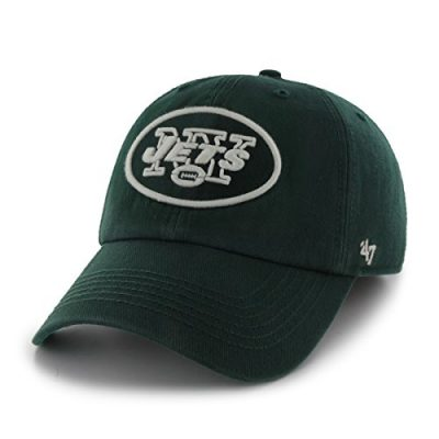 NFL-New-York-Jets-47-Brand-Franchise-Fitted-Hat-Dark-Green-Large-0