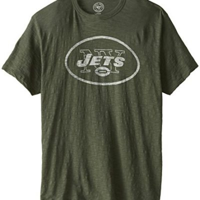 NFL-New-York-Jets-Mens-47-Basic-Scrum-Tee-Bottle-Green-Large-0