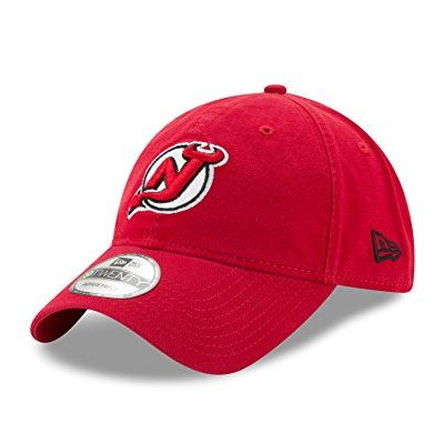 NHL-New-Jersey-Devils-Adult-Core-Classic-Primary-9TWENTY-Adjustable-Cap-One-Size-Red-0