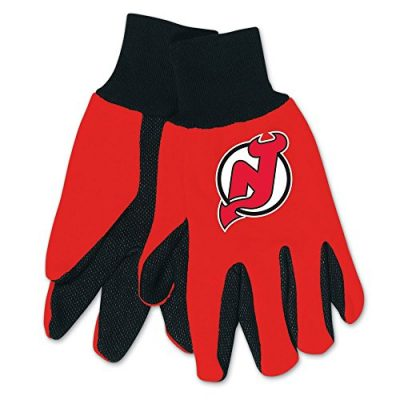 NHL-New-Jersey-Devils-Two-Tone-Gloves-RedBlack-0